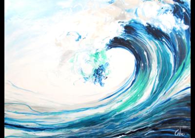 Au delà de la vague