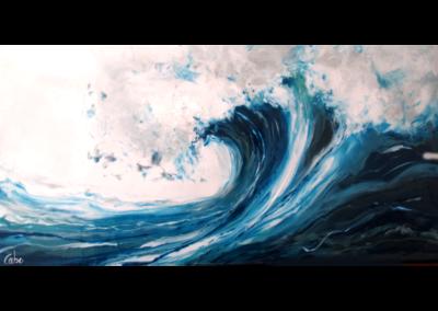 Au gré de la vague